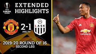 Manchester United vs LASK: Extended Highlights | 2-1 | UCL on CBS Sports