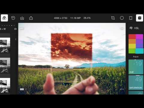 polarr photo editor video