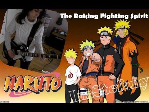 Naruto Theme - The Raising Fighting Spirit (guitar cover)