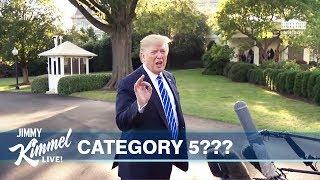 "Trump Has ""Never Heard"" of a Category 5 Hurricane"