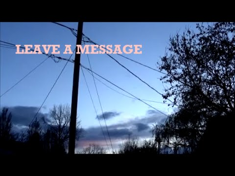 Gnash - Leave a Message Lyrics
