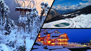 Auli -Uttarakhand-Winter,  Mini Switzerland of India