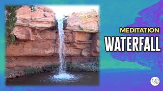 1 Hour Desert Waterfall Sounds for Meditation, Sleep, Relaxation and Focus