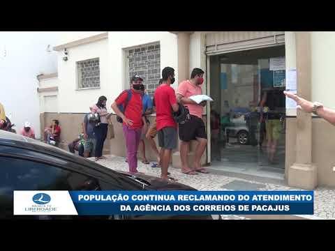 POPULAÇÃO CONTINUA RECLAMANDO DO ATENDIMENTO DA AGÊNCIA DOS CORREIOS DE PACAJUS