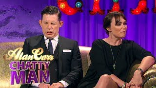 Lee Evans and Keeley Hawes (Barking in Essex Interview) | Alan Carr Chatty Man