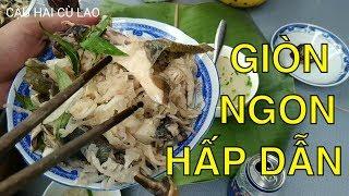 Gỏi Gà Thân Cây Chuối, ẩm thực miền Tây | How to make banana tree salad?