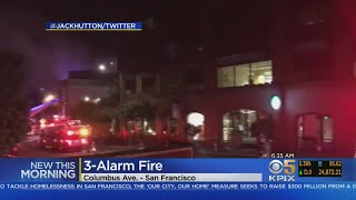 Several Displaced After Overnight Fire Breaks Out In North Beach