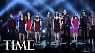 Students From Marjory Stoneman Douglas High School Give Emotional Performance At Tony Awards   TIME