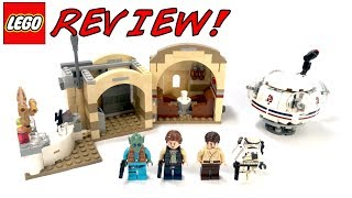 LEGO 75205 Mos Eisley Cantina Review! | LEGO Star Wars 2018 Set! | Glow In The Dark LEGO Pieces!