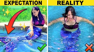 I Tried Being a Beautiful MERMAID For A Day ...but I Failed