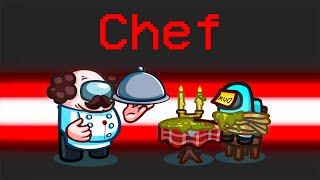 *NEW* CHEF IMPOSTOR ROLE in Among Us