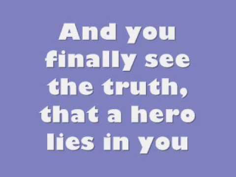 Mariah Carey - Hero lyrics