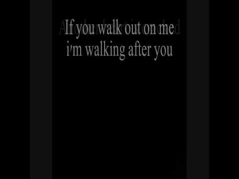 Foo Fighters - Walking After You (with lyrics) - The X Files