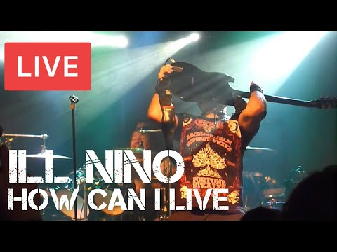 Ill Niño - How Can I Live Live in [HD] @ The Garage - London 2013