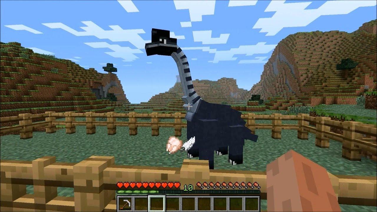 Minecraft Dinosaur Mod – Migliori Pagine da Colorare