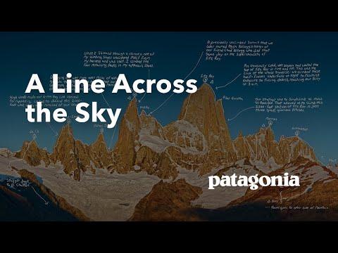 A line across the sky