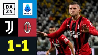 Rebic kontert Morata! Kein Sieger im Prestigeduell: Juventus - AC Mailand 1:1 | Serie A | DAZN