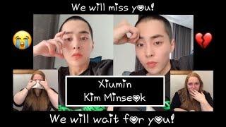 EXO's Xiumin...We will miss you! Papercuts & Xiuweet Time Reaction