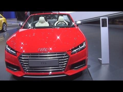 Audi TTS Roadster 2.0 TFSI Quattro S Tronic 228 kW (2016) Exterior and Interior in 3D