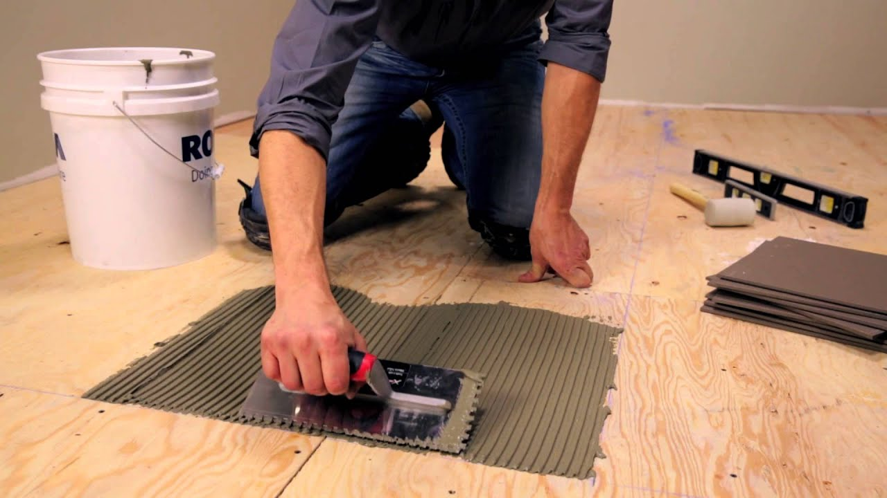 Ceramic Tile On Concrete Floor Prep