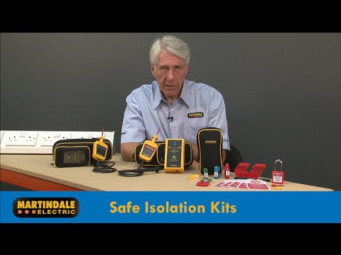 Martindale VIPDLOK138 and VIPDLOK150 safe isolation kits