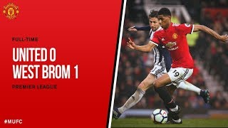 Manchester United vs West Brom 0-1   Highlights 15-04