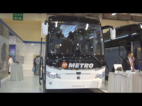 Temsa Maraton VIP Bus 2016 Exterior and Interior in 3D
