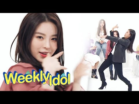 Elkie's Related Search Words are Gesture Master! [Weekly Idol Ep 392]