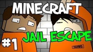"Minecraft -  ""Jail Escape"" Part 1: You're Disgusting #JailEscape"