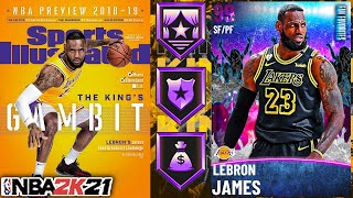 DARK MATTER LEBRON JAMES GAMEPLAY! IS HE LEFRAUD IN NBA 2K21 MyTEAM?!?