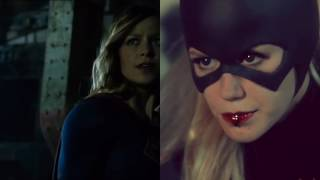 Supergirl meets Batwoman