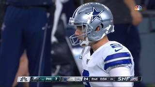 Brett Maher 63 Yard Field Goal | Eagles vs. Cowboys | NFL
