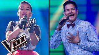 Jennifer canta 'Cucurrucucú paloma' y Sammy canta 'Materialista' | Súper Batallas| La Voz Teens
