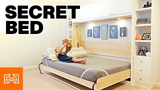 Adding a Murphy Bed to the Secret Office | I Like To Make Stuff
