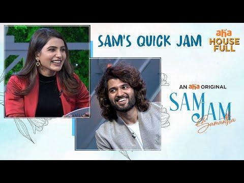 Sam's quick jam with Vijay Deverakonda- Samantha- Sam Jam