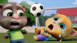 ⚽️Football Boo-Boo 💥🤕Talking Tom Shorts (S2 Episode 21)
