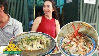 Prawn Salad Sen shrimp soup Coconut fish steamed with coconut water ATMT file 32