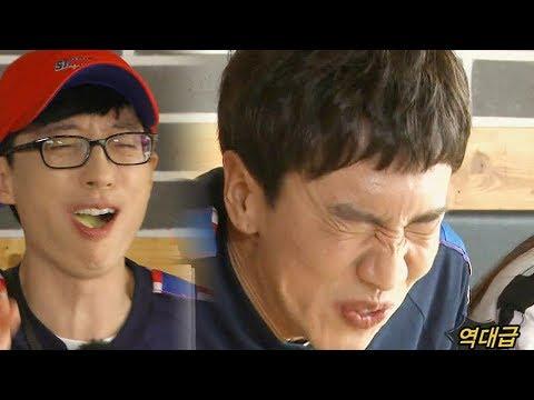 이광수·유재석, 역대급 못난이 두 형제 '오만상' 《Running Man》런닝맨 EP536