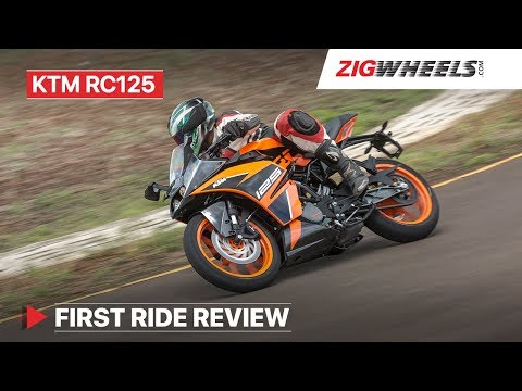 KTM RC 125 Review & Performance, Handling, Mileage, Features, Price in India & More