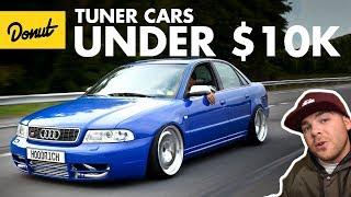 Best Tuner Cars Under 10k | The Bestest | Donut Media