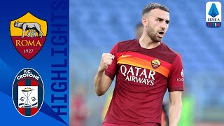 Roma 5-0 Crotone | Pellegrini and Mayoral score a brace for hosts! | Serie A TIM