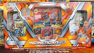 Pokemon Cards - Opening a Incineroar GX Premium Collection Box