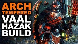 ARCH TEMPERED VAAL HAZAK BUILD - Monster Hunter World - 'Hazmat Facebuster'
