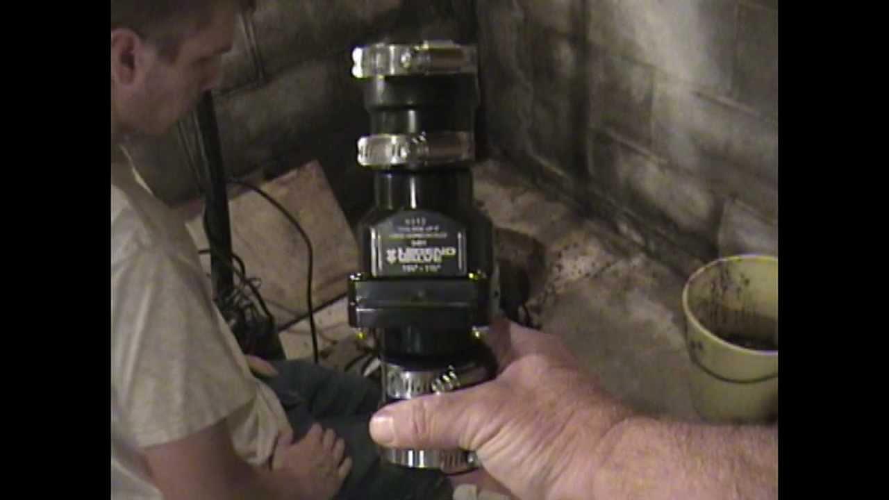 Atlantic Drain Howto Install Sump Pump Check Valve