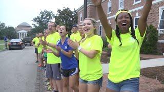 Duke University Freshmen Move In Day 2015