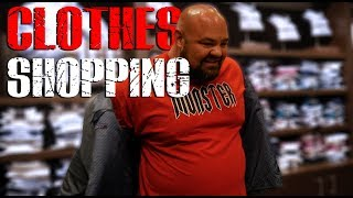 TRYING TO FIND CLOTHES THAT FIT | 4X WSM BRIAN SHAW
