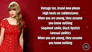 Taylor Swift - cardigan LYRICS