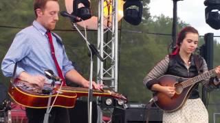 Sierra Hull Live 9-18-2016 New England Festy Festival Canton MA