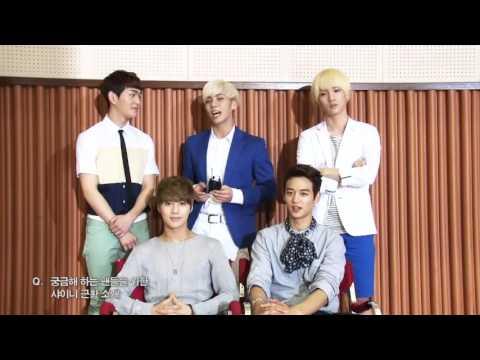 130628 SHINee '초록비' Green Rain MV Making & Interview (OST.The Queen's Classroom)