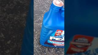 Part 1/3 What happens when you mix different types of coolant
